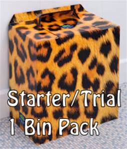 LEOPARD PRINT SINGLE BIN TRIAL/STARTER PACK
