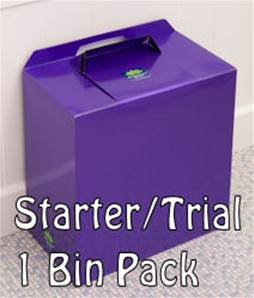 METALLIC PURPLE SINGLE BIN TRIAL/STARTER PACK