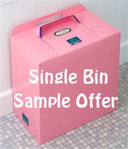PINK BINS SINGLE BIN TRIAL/STARTER PACK